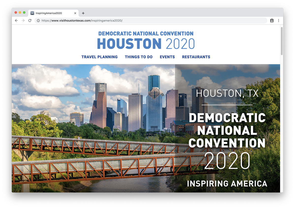 Houston DNC 2020 Site