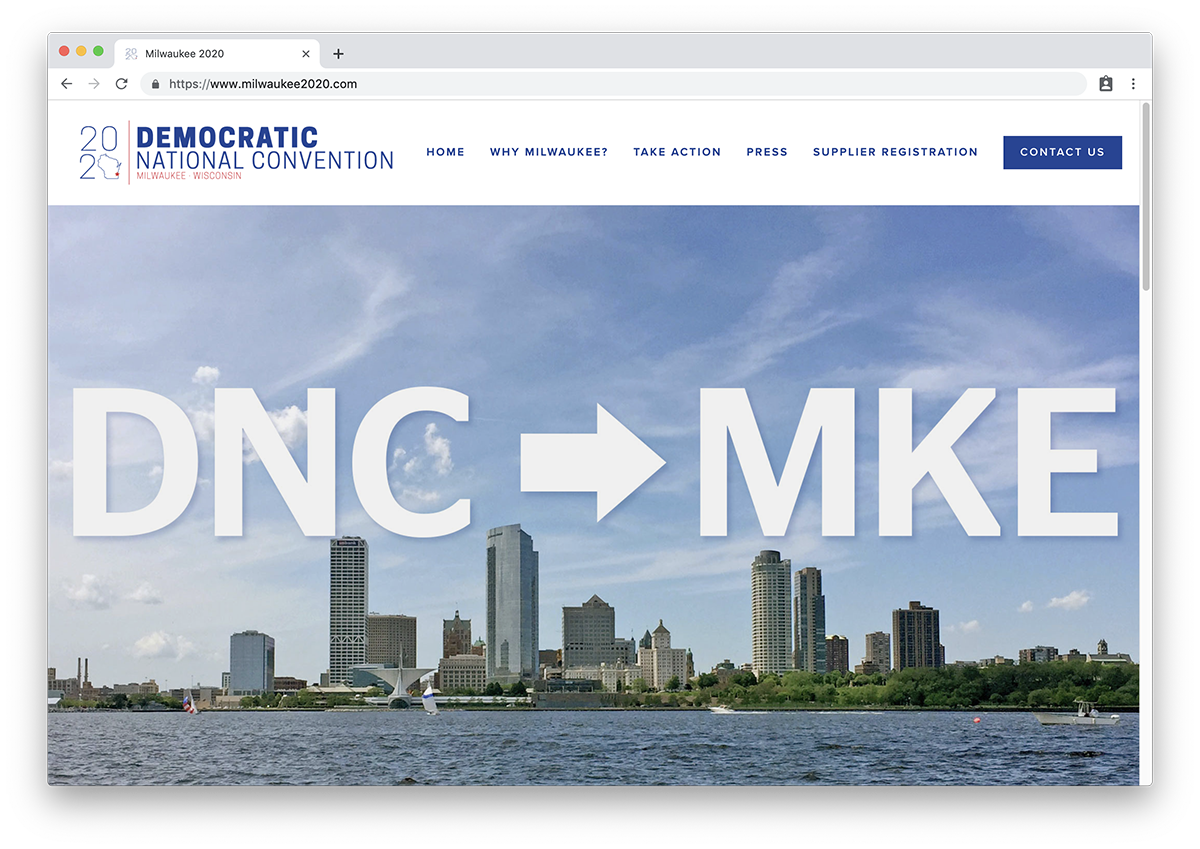 Milwaukee DNC 2020 Site